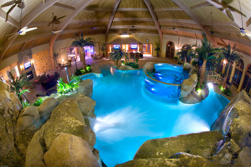 Paradise Pools and Spas for Tropical Pool with Shehan Pools