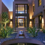 Pardee Homes Las Vegas for Contemporary Exterior with Gravel