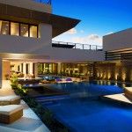 Pardee Homes Las Vegas for Contemporary Pool with Exteriors