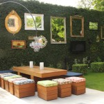 Pardee Homes Las Vegas for Shabby Chic Style Patio with Feature Hedge