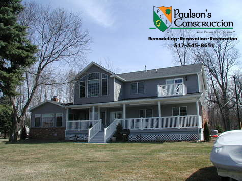 Paulson Tours for Transitional Spaces with Siding