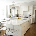 Pawleys Island Posh for Traditional Kitchen with Lucite Stools