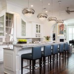 Pawleys Island Posh for Transitional Kitchen with Barstools