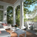Peaceful Valley Furniture for Victorian Porch with Outdoor Lighting