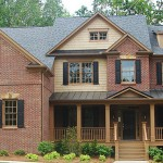 Peachtree Properties for Traditional Exterior with Rock