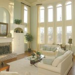 Peachtree Properties for Traditional Living Room with Firplace