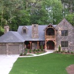 Peachtree Woodworking for Rustic Exterior with Dormer Windows