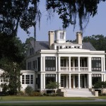 Peachtree Woodworking for Traditional Exterior with Balcony