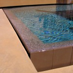 Pebble Tec Colors for Southwestern Pool with Reverse Vanishing Edge