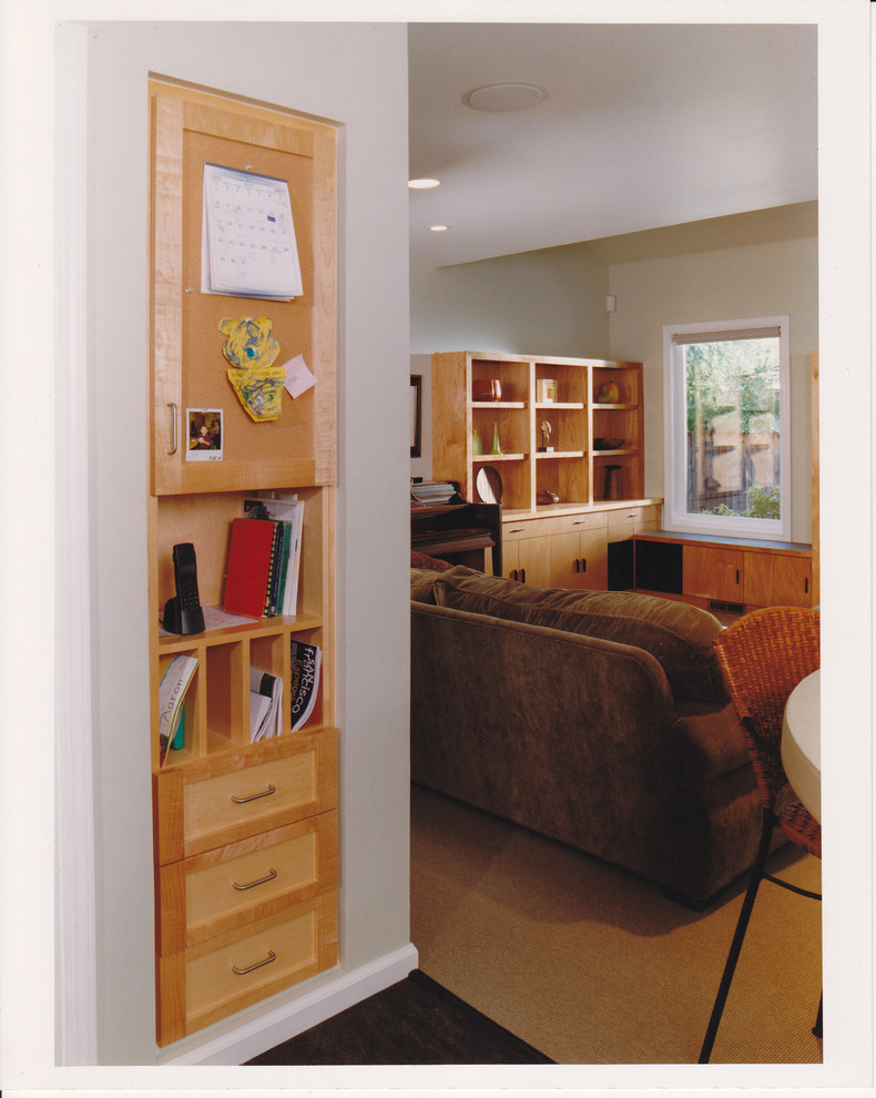 Peninsula Wellness Center for Contemporary Home Office with Shelving