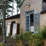 Petit Jean Properties for Rustic Exterior with French Doors