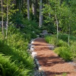 Petit Jean Properties for Rustic Landscape with Permeable Paving