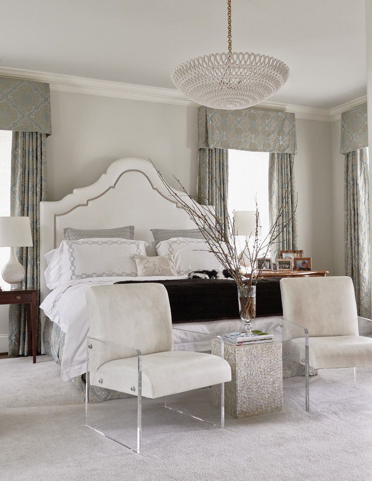 Pf Changs Raleigh for Transitional Bedroom with Feminine