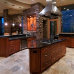 Pierce Flooring for Contemporary Kitchen with Pendant Lighting