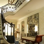 Pierce Flooring for Traditional Entry with Staircase