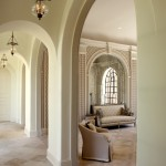 Pierce Flooring for Traditional Hall with Rib Vault