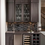 Pirch for Transitional Dining Room with Built In