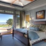 Platte Clay Electric for Traditional Bedroom with Dark Stained Wood