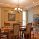 Platte Clay Electric for Traditional Dining Room with Table Runner
