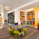 Playrooms for Traditional Kids with Chalkboard Wall