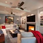 Playrooms for Transitional Family Room with Neutral Furniture