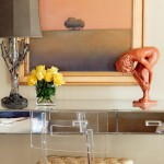 Plexi Craft for Eclectic Bedroom with Statue