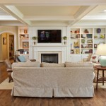 Plumbers Supply Louisville for Traditional Family Room with White Wood