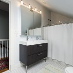 Plumbers Supply Louisville for Transitional Bathroom with Vanity Storage