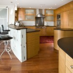 Plyboo for Contemporary Kitchen with Accent Tiles