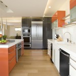 Plyboo for Contemporary Kitchen with Extra Tall Cabinets