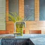 Plyboo for Contemporary Kitchen with Floral Arrangement