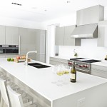 Poggenpohl for Modern Kitchen with Gray Cabinets