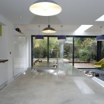 Polished Concrete Countertops for Modern Kitchen with London
