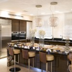 Poltrona Frau for Contemporary Kitchen with Breakfast Bar