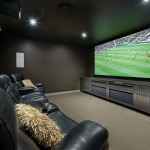Port Chester Theater for Contemporary Home Theater with Movie Room