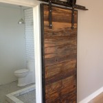 Porter Barn Wood for Contemporary Bathroom with Mushroom