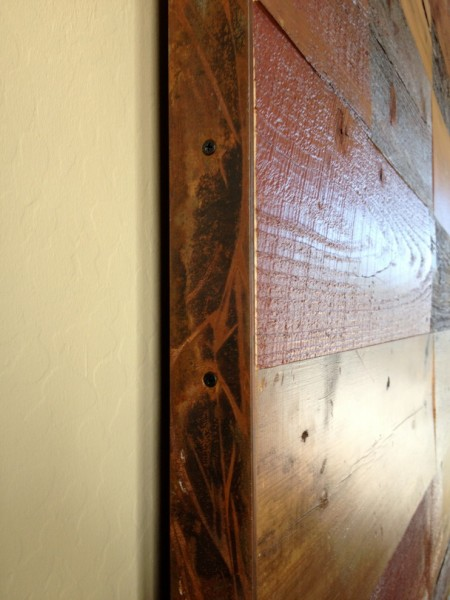 Porter Barn Wood for Contemporary Spaces with Calico