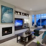 Portico Designs for Contemporary Living Room with Coffee Table