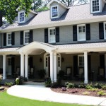 Potomac Valley Brick for Traditional Exterior with Dormers