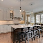 Potterhill Homes for Traditional Kitchen with Bell Pendant Lights