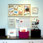 Pottery Barn Knock Off for Traditional Home Office with Benjamin Moore