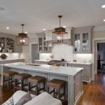 Pottery Barn Knock Off for Traditional Kitchen with Fixture