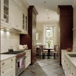 Pratt and Larson for Traditional Kitchen with Two Tone Cabinets