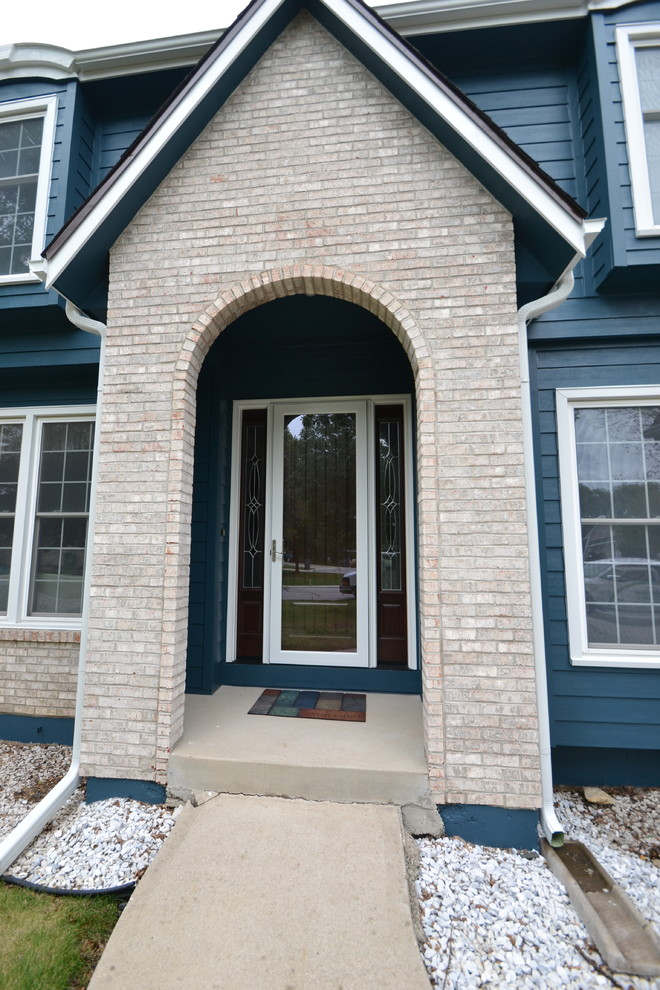Provia Doors for Traditional Entry with Fiberglass Entry Door