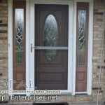 Provia Doors for Traditional Entry with Front Door Glass