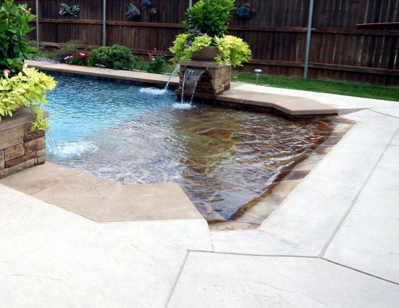 Pulliam Pools for Beach Style Pool with Beach Style