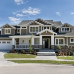 Pulte Homes Reviews for Craftsman Exterior with Lawn