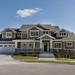 Pulte Homes Reviews for Craftsman Exterior with Stone Step