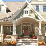 Pulte Homes Reviews for Traditional Exterior with Door County Home