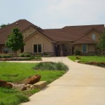 Pulte Homes Reviews for Traditional Exterior with Gerard Canyon Shake Stone Coated Steel